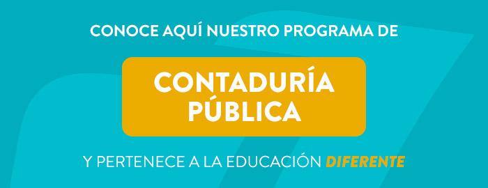 Conoce aquí nuestro programa de Contaduría Pública en modalidad virtual
