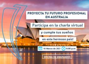 Proyecta tu futuro profesional en Australia