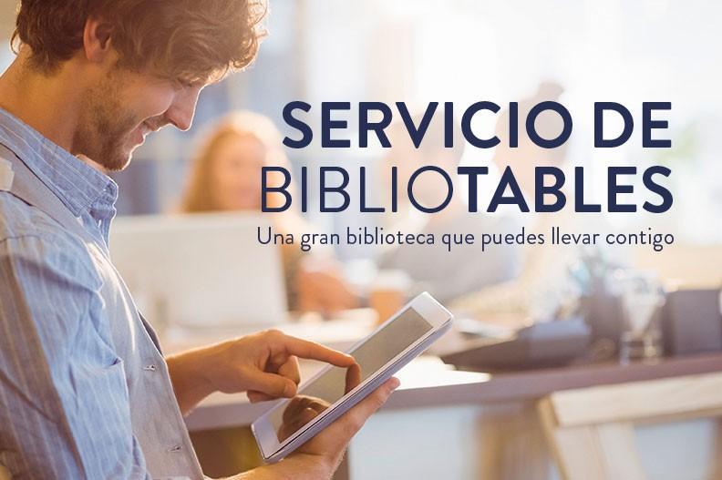 Aprovecha el servicio de bibliotablets