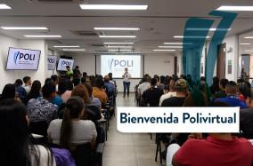 Bienvenidos estudiantes virtuales del #PoliMedellín