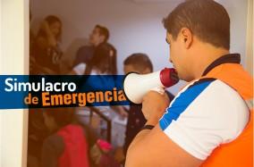 Simulacro de emergencia en el #PoliMedellín