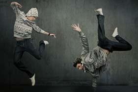Danza Urbana en el Poli